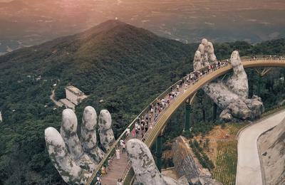 Kinh nghiệm du lịch Cầu Vàng Đà Nẵng